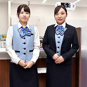 Renewal of female employee uniforms Tottori-Bank on the 70th anniversary of its foundingサムネイル