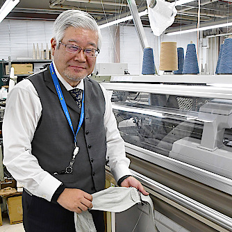 """""""If it helps the safety and security of the citizens of the prefecture"""" Good Hill applies a mask production knit making machineサムネイル"""